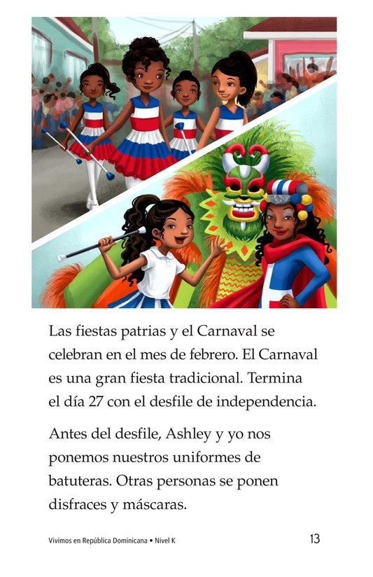 Book Preview For Vivimos en República Dominicana Page 13