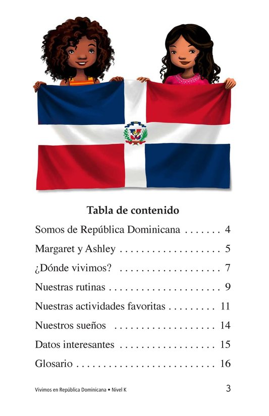 Book Preview For Vivimos en República Dominicana Page 3