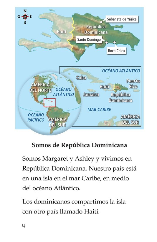 Book Preview For Vivimos en República Dominicana Page 4