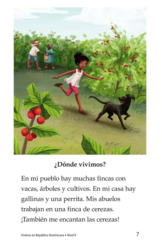 Book Preview For Vivimos en República Dominicana Page 7