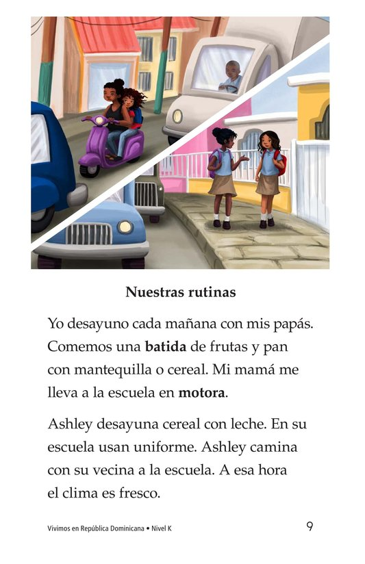 Book Preview For Vivimos en República Dominicana Page 9