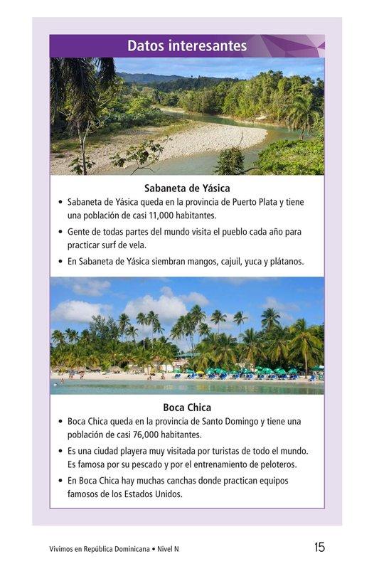 Book Preview For Vivimos en República Dominicana Page 15
