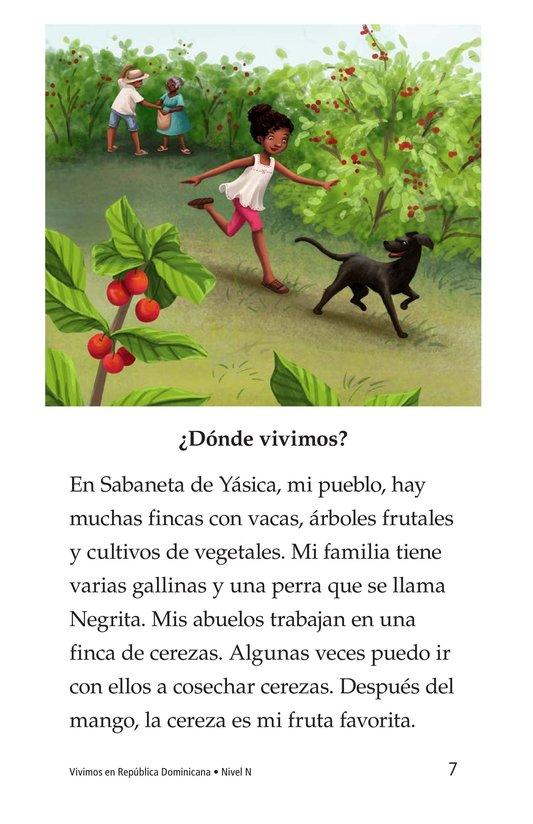 Book Preview For Vivimos en República Dominicana Page 7