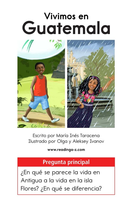 Book Preview For Vivimos en Guatemala Page 1
