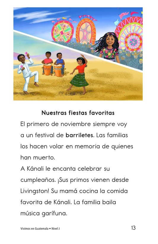 Book Preview For Vivimos en Guatemala Page 13