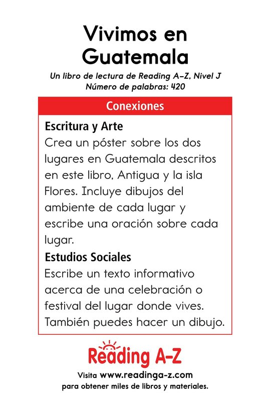 Book Preview For Vivimos en Guatemala Page 17