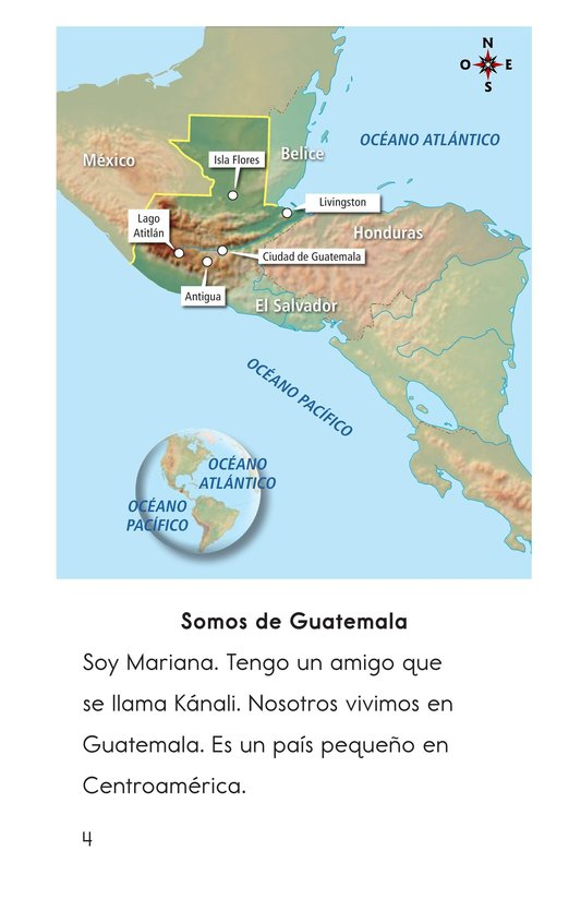 Book Preview For Vivimos en Guatemala Page 4