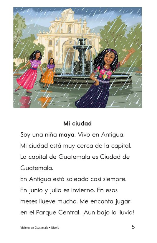 Book Preview For Vivimos en Guatemala Page 5