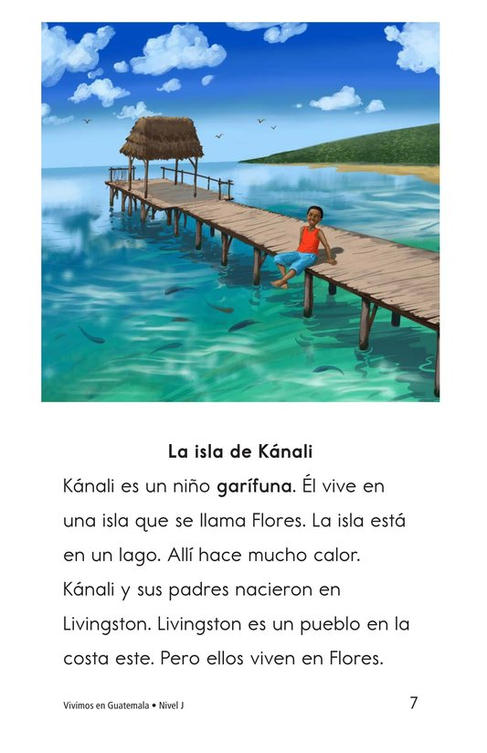 Book Preview For Vivimos en Guatemala Page 7