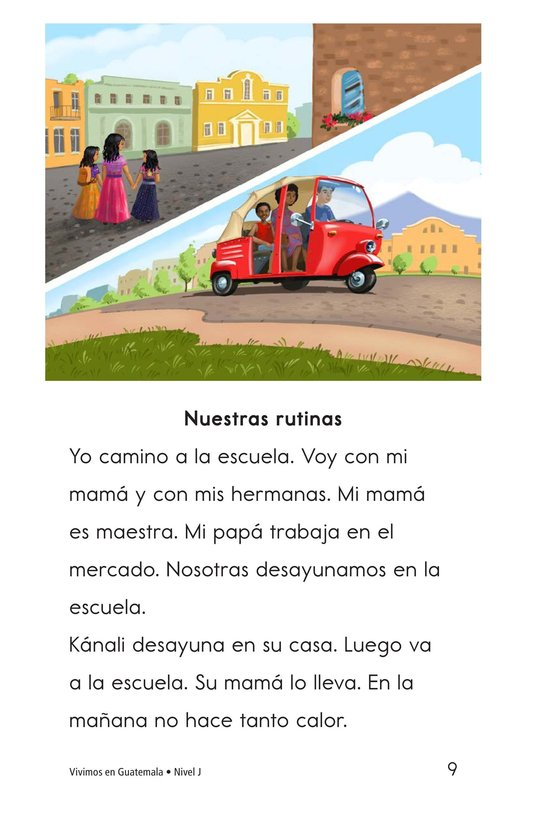 Book Preview For Vivimos en Guatemala Page 9