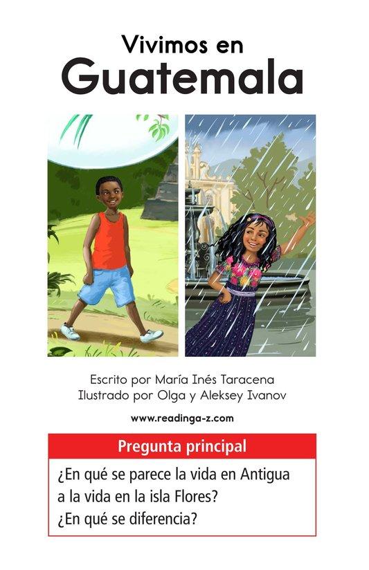 Book Preview For Vivimos en Guatemala Page 1