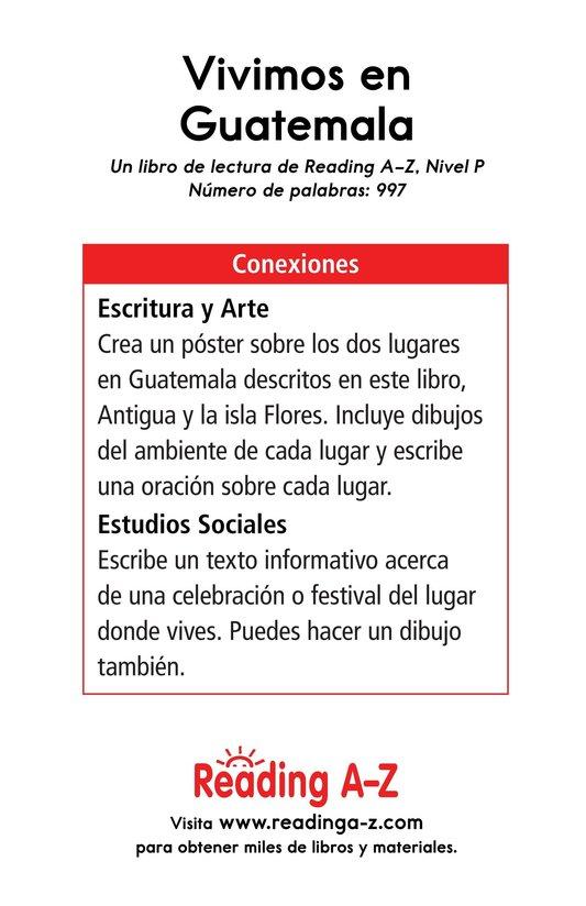 Book Preview For Vivimos en Guatemala Page 17