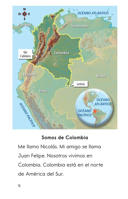 Book Preview For Vivimos en Colombia Page 4