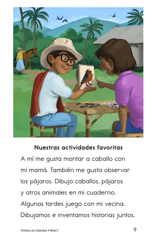 Book Preview For Vivimos en Colombia Page 9