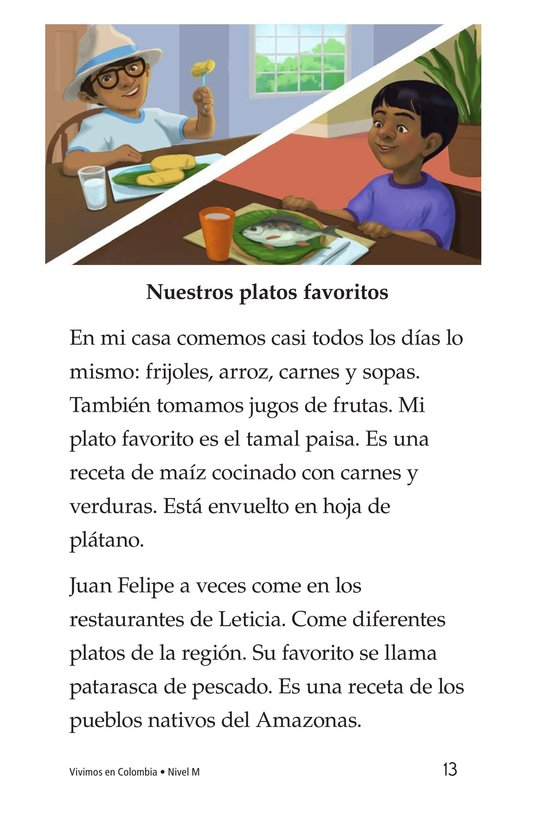 Book Preview For Vivimos en Colombia Page 13