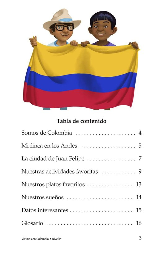 Book Preview For Vivimos en Colombia Page 3