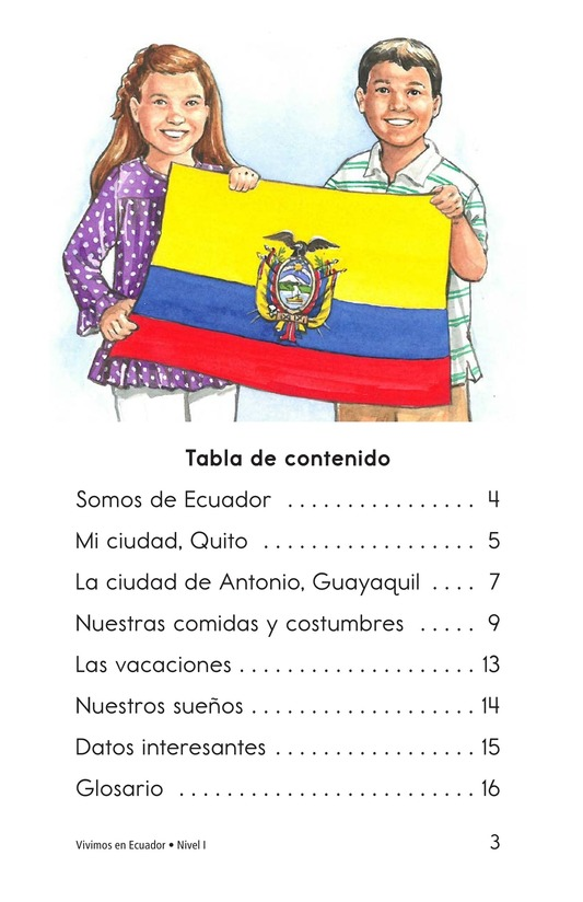 Book Preview For Vivimos en Ecuador Page 3