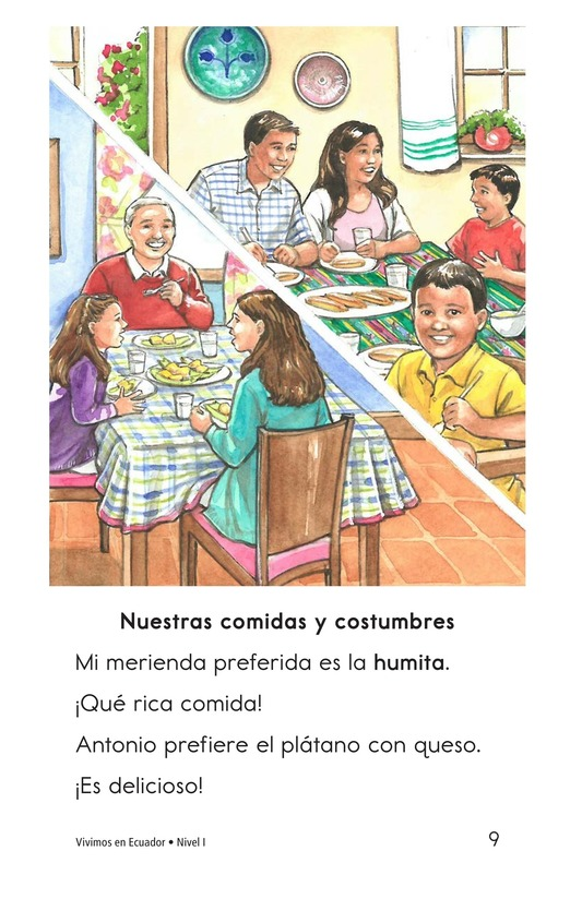 Book Preview For Vivimos en Ecuador Page 9