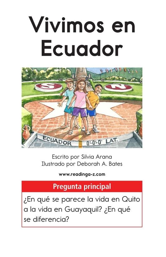 Book Preview For Vivimos en Ecuador Page 1