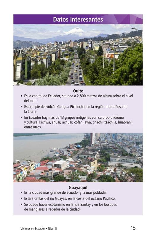 Book Preview For Vivimos en Ecuador Page 15