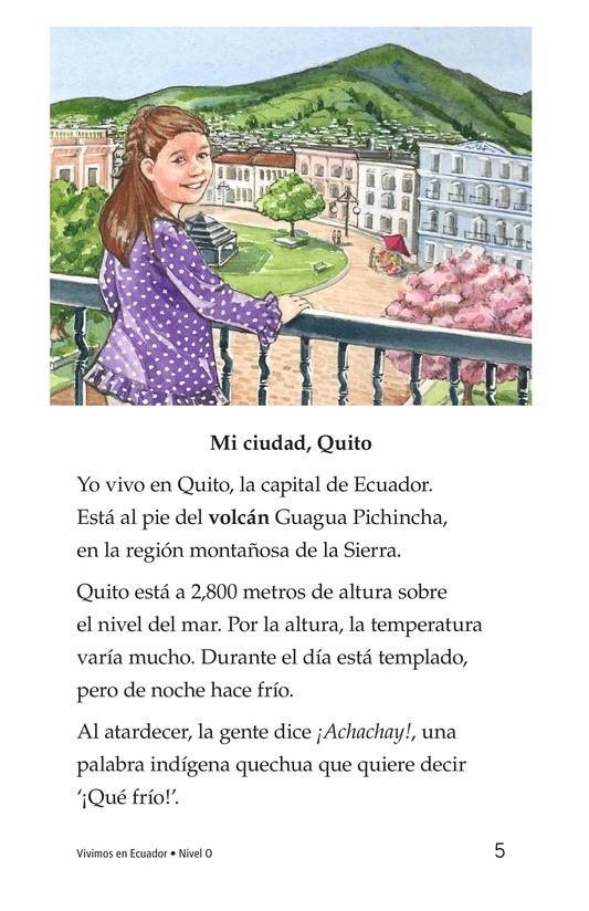 Book Preview For Vivimos en Ecuador Page 5