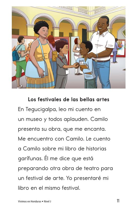 Book Preview For Vivimos en Honduras Page 11