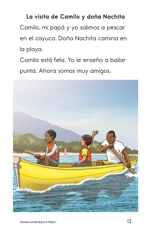 Book Preview For Vivimos en Honduras Page 13