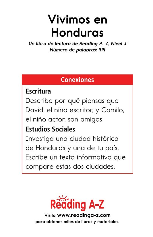 Book Preview For Vivimos en Honduras Page 17
