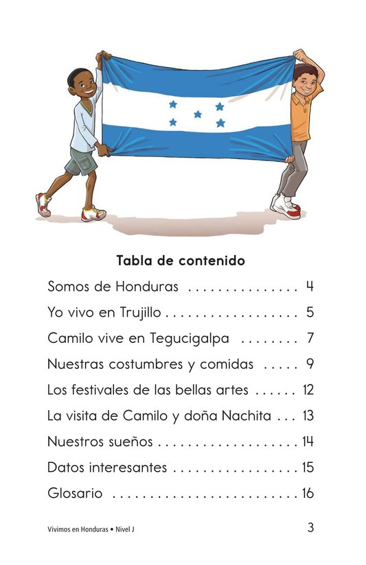 Book Preview For Vivimos en Honduras Page 3