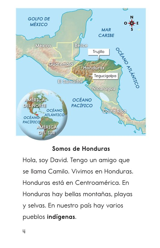 Book Preview For Vivimos en Honduras Page 4