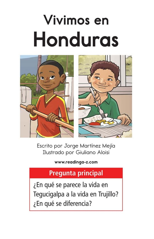 Book Preview For Vivimos en Honduras Page 1