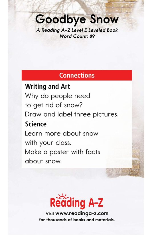Book Preview For Goodbye Snow Page 13