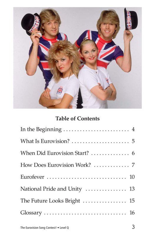 Book Preview For The Eurovision Song Contest! Page 3