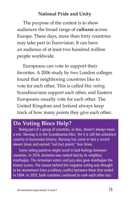 Book Preview For The Eurovision Song Contest! Page 13