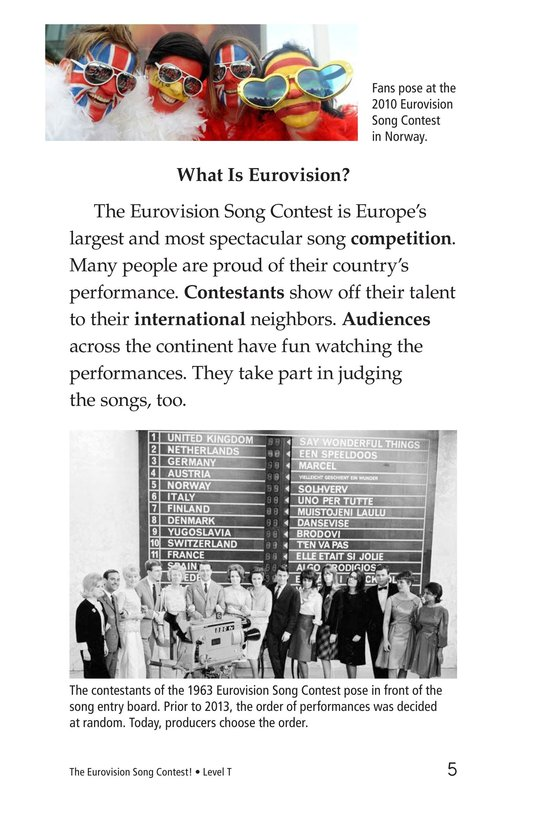 Book Preview For The Eurovision Song Contest! Page 5
