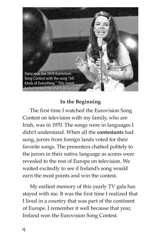 Book Preview For The Eurovision Song Contest! Page 4