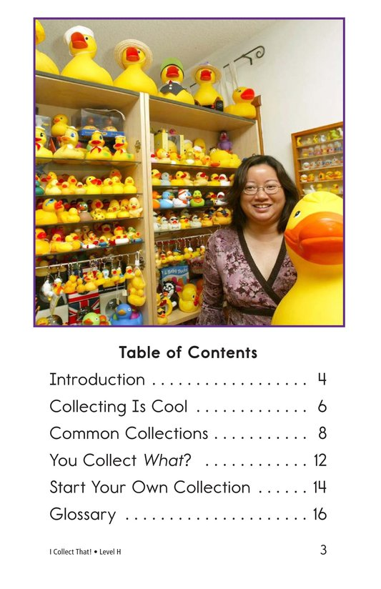 Book Preview For I Collect That! Page 3