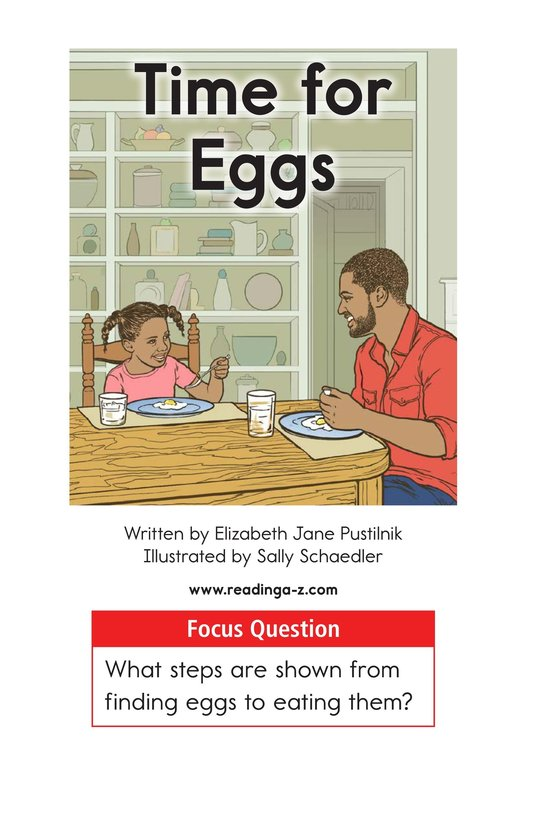 Book Preview For Time for Eggs Page 1