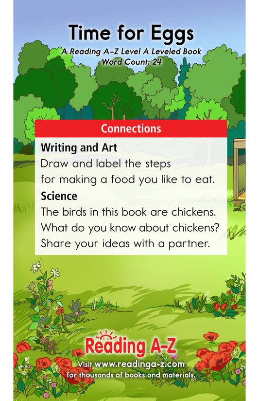 Book Preview For Time for Eggs Page 11