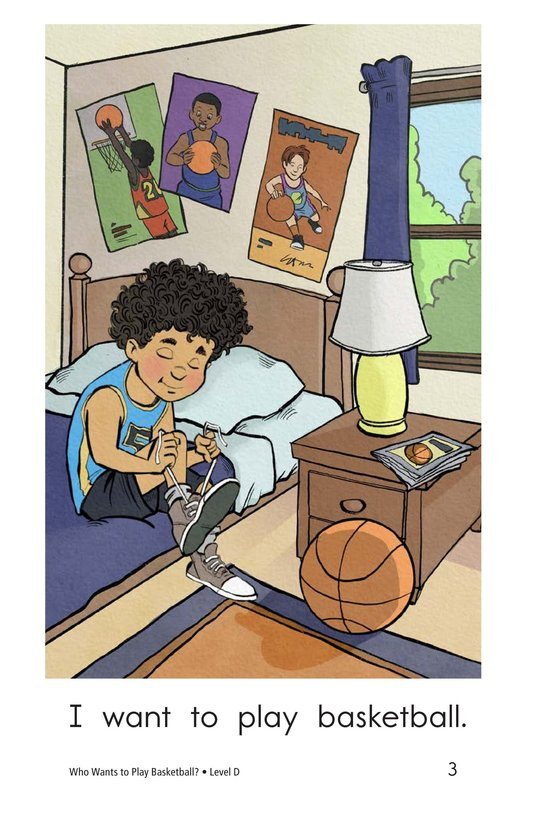 Book Preview For Who Wants to Play Basketball? Page 3