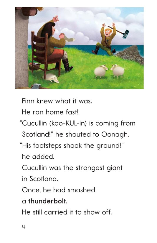 Book Preview For The Legend of the Giant's Causeway Page 4