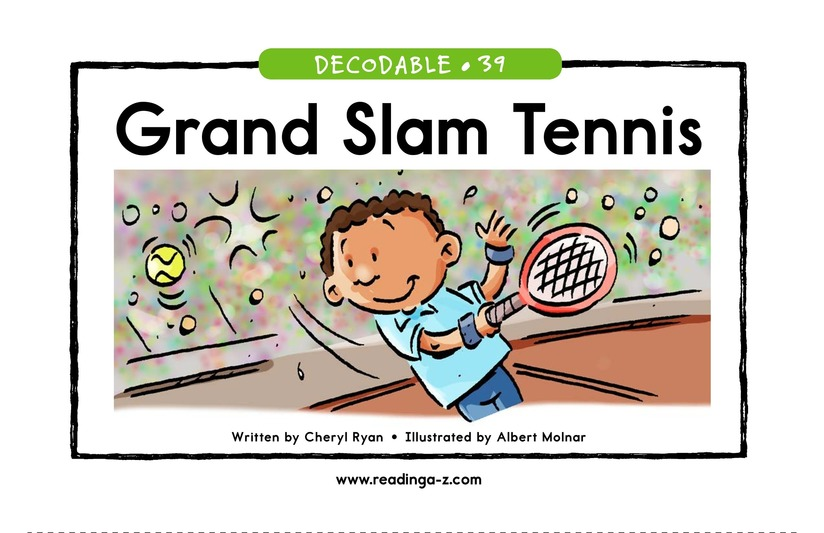 Book Preview For Grand Slam Tennis Page 1