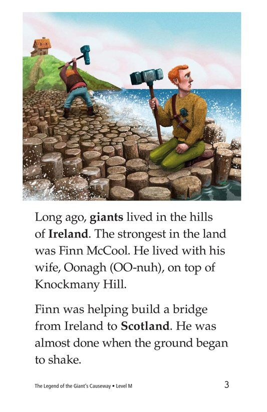 Book Preview For The Legend of the Giant's Causeway Page 3