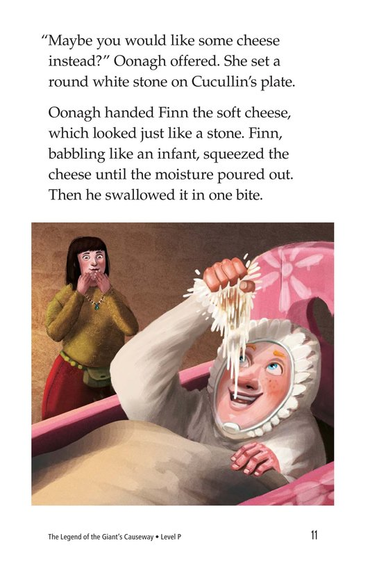 Book Preview For The Legend of the Giant's Causeway Page 11