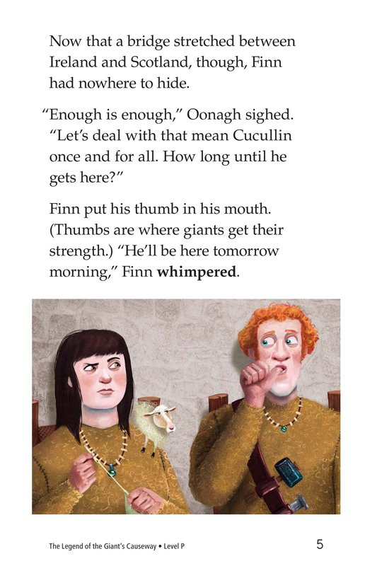 Book Preview For The Legend of the Giant's Causeway Page 5