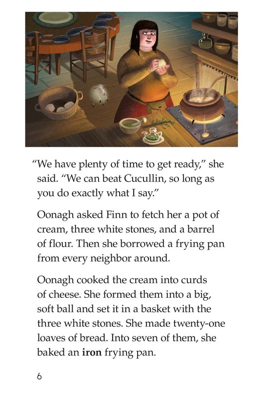 Book Preview For The Legend of the Giant's Causeway Page 6