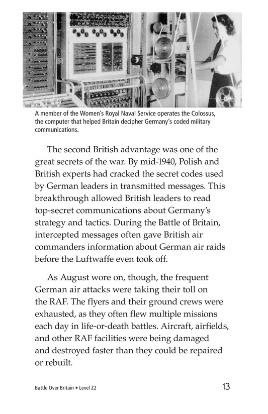 Book Preview For Battle Over Britain Page 13