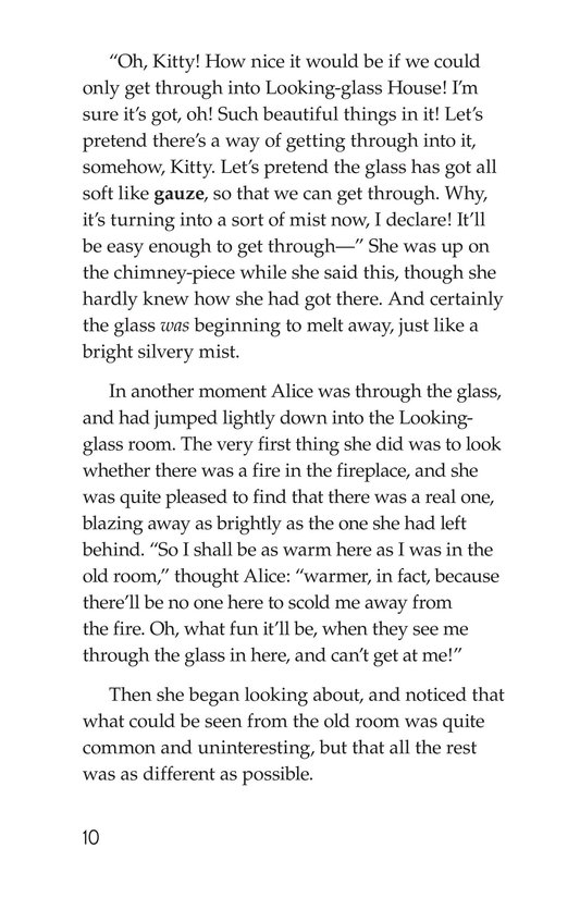Book Preview For Through the Looking Glass (Part 1) Page 10