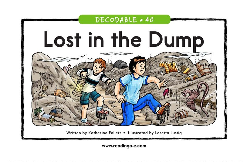 Book Preview For Lost in the Dump Page 1