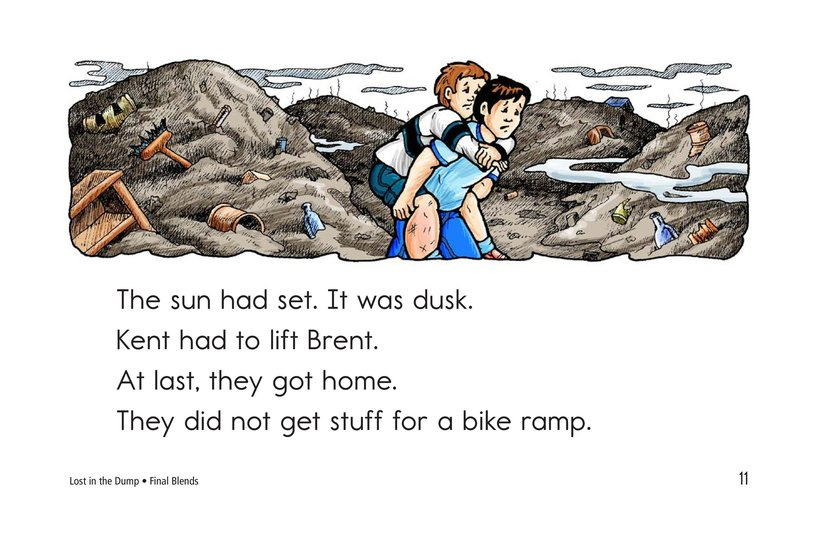 Book Preview For Lost in the Dump Page 11